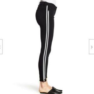 805ea70c6c3227 Women White Jeans With Black Stripe On Side on Poshmark